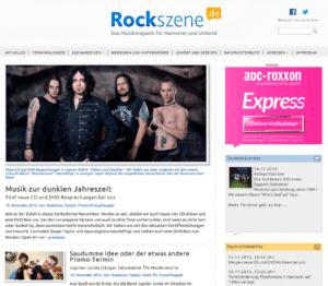 Rockszene.de Musikmagazin