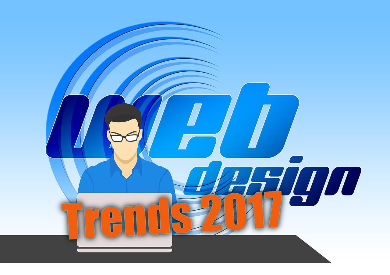 Webdesign - Trend 2017