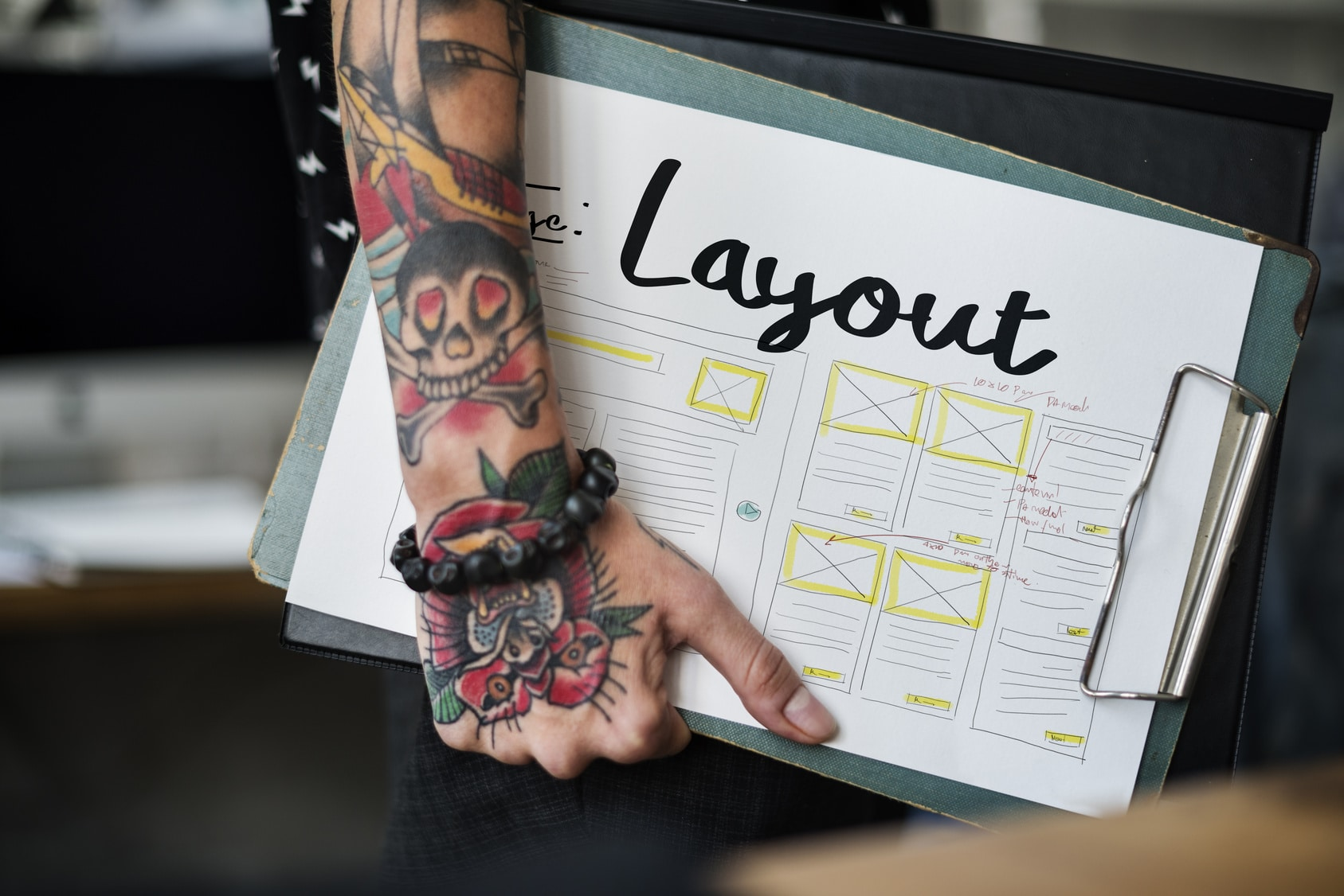 Layout Material Design